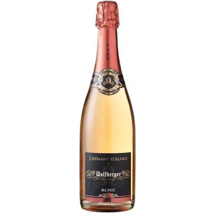 Wolfberger - Crémant d'Alsace Rosé
