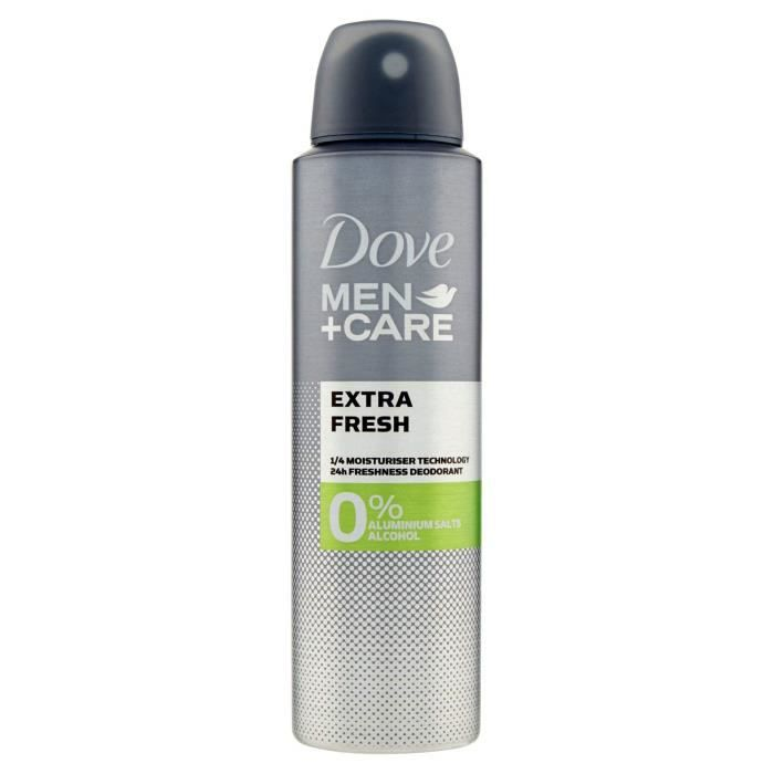 Dove Déodorant Spray 0% Sels Extra Fresh - 150 ml