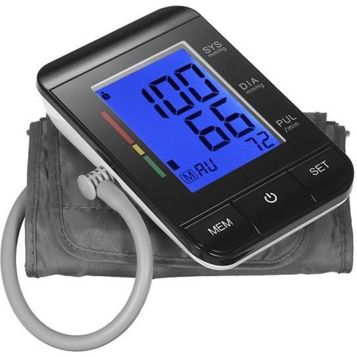 AlphagoMed Tensiomètre de bras / 2 Mode utilisateur / Mémoire de données 90 / Indicateur IHB