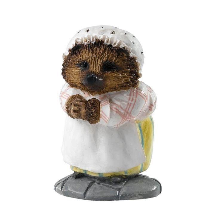Statuette miniature légèrement titrée Beatrix Potter Mme Tiggy-Winkle