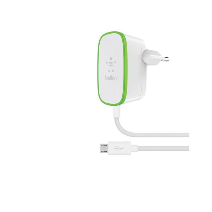 Belkin Adaptateur secteur - Port USB - Blanc