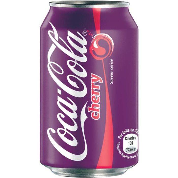 Coca-Cola - Coca-Cola Cherry 33cl (pack de 24)