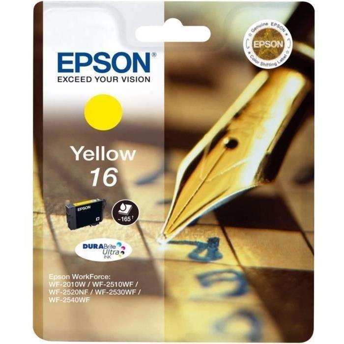 Epson Pack de 1 Cartouche Jaune Standard 3.1ml Blister