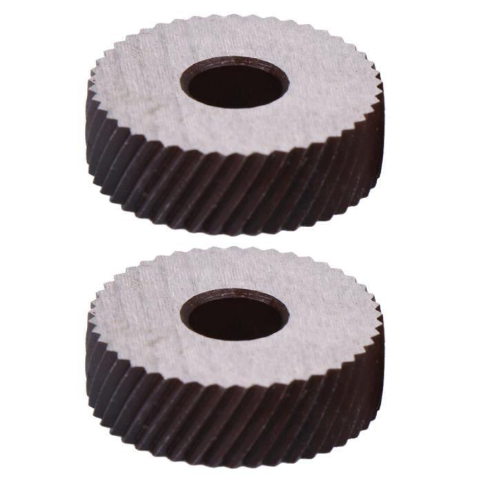 2 pièces outil de moletage Durable Premium de haute qualité professionnel ensemble de molettes de double roue VELO D'APPARTEMENT