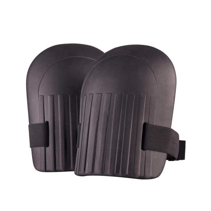 PROTEGE-CHEVILLES - CHEVILLERE,1 paire vêtements de Sport genouillères protections s'adapte à tous les genoux - Type Black