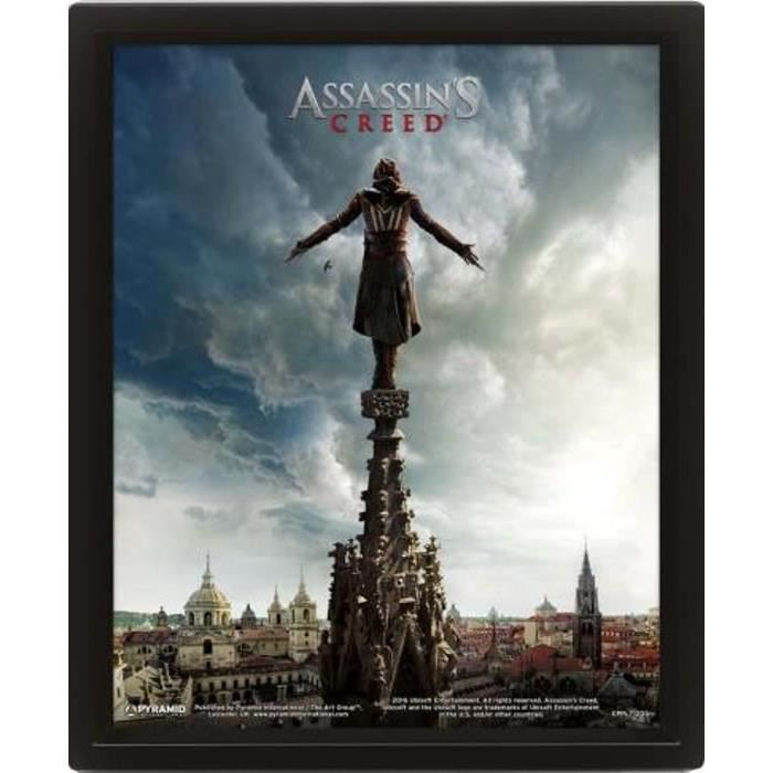 Cadre 3D Assassin's Creed