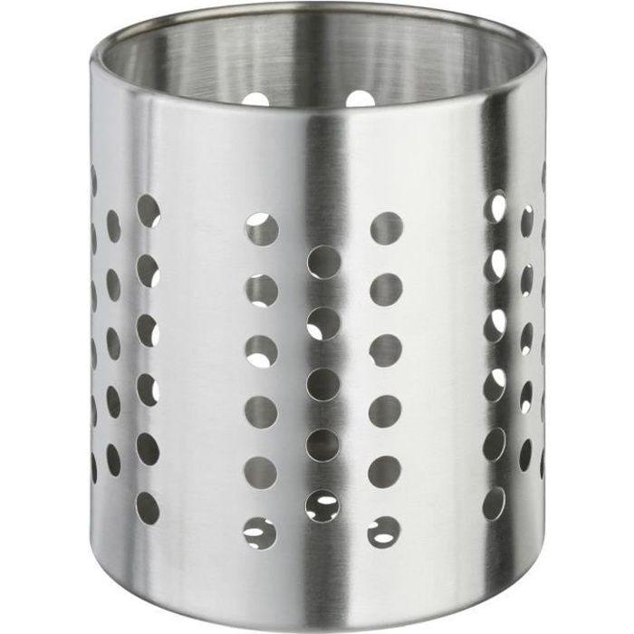 Secret de Gourmet - Pot range couverts en inox INOX