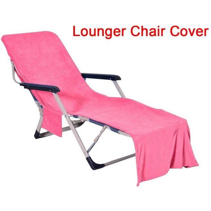 Pliante Sun Leisure Chaise Longue et Portable Jardin extérieur Sun Lit, Housses de Chaise Longue (N'inclut pas les chaises )