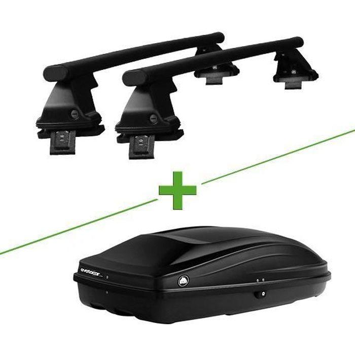 Pack barres et coffre de toit WABB Freedom Acier + Wabb S pour Renault Express Camionnette - 3666183094952