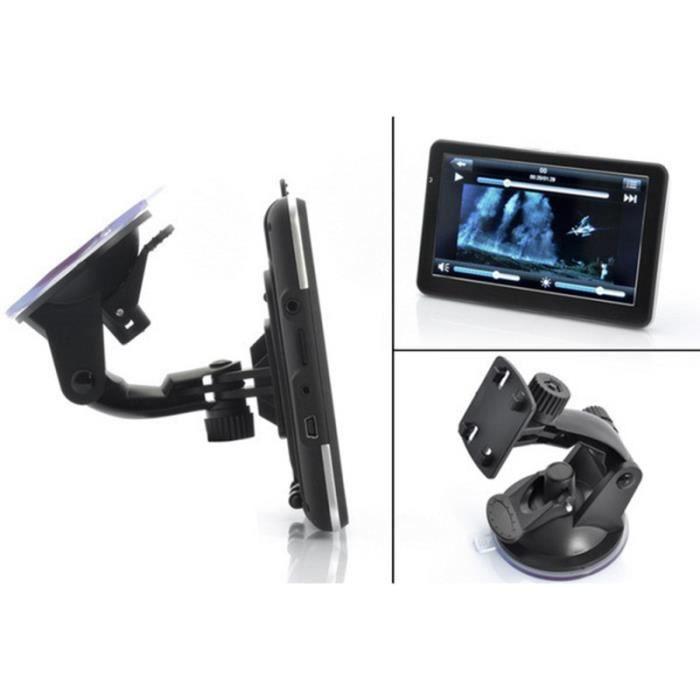 7 pouces 4GB 128MB GPS Satellite Nav Dash Navigator MP3 Portable MP4 lecteur multimédia pour camion AUTORADIO