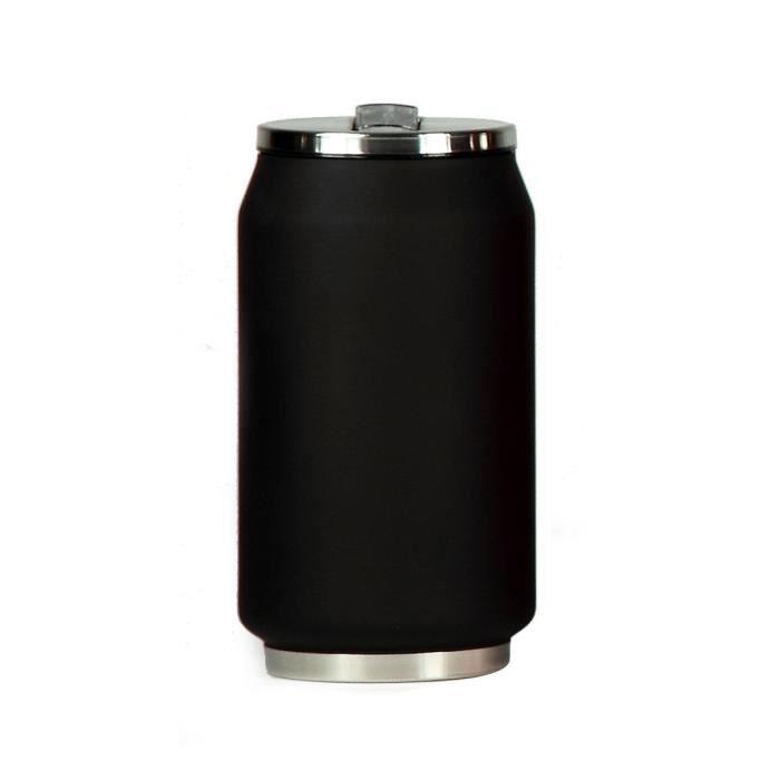 YOKO DESIGN Canette Isotherme 280 ml - Noir mat