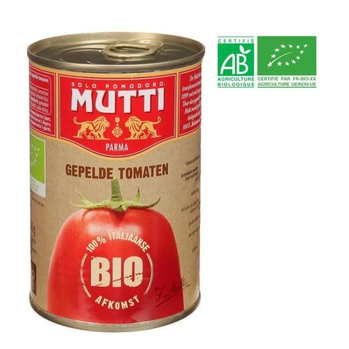 Tomates Pelées Mutti Bio - 400 g