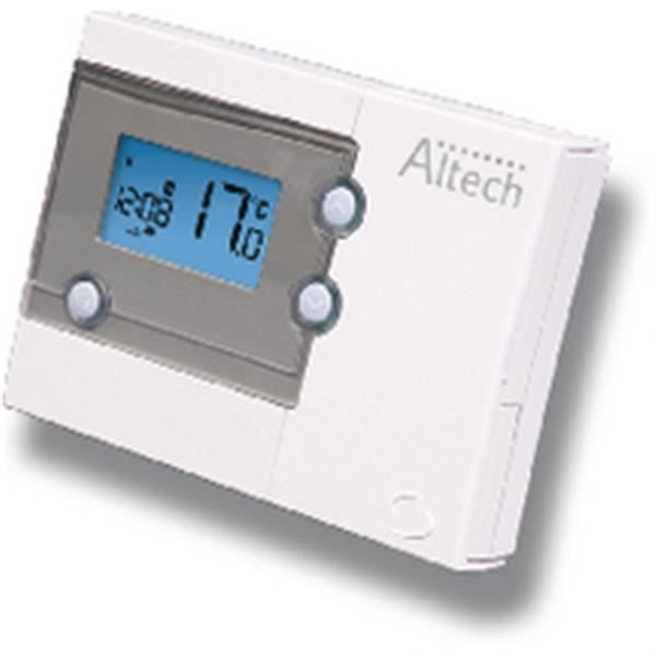 altech thermostat d ambiance hebdomadaire r f althc004 achat vente thermostat d 39 ambiance. Black Bedroom Furniture Sets. Home Design Ideas