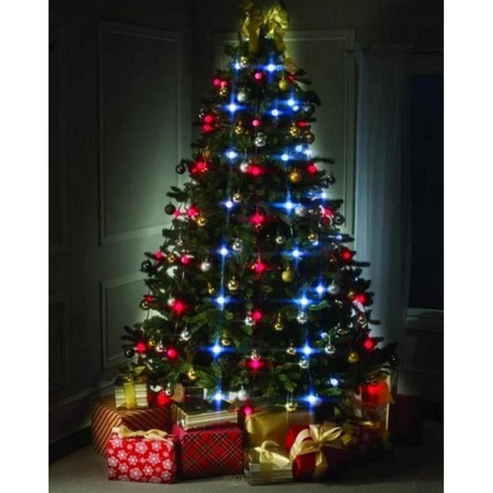 Guirlande Lumineuse Sapin De Noel Guirlande Lumineuse Sapin de Noël, Multicolore Guirlande LED