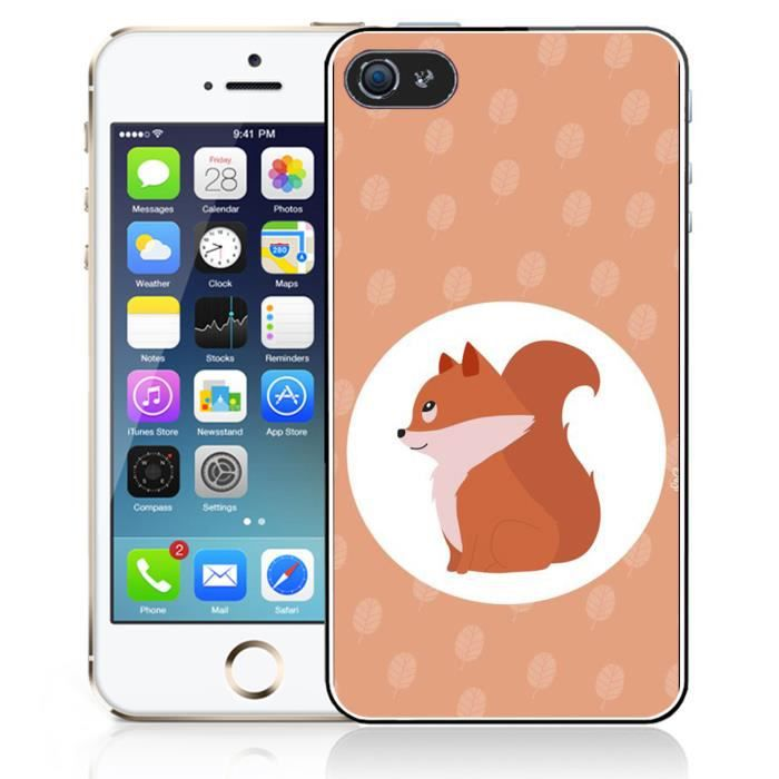 coque iphone 5 renard
