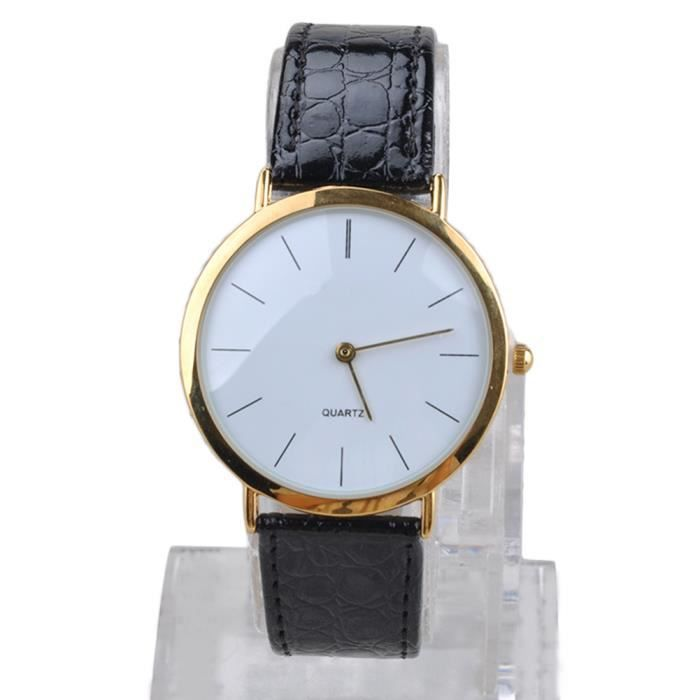montre cuir simple