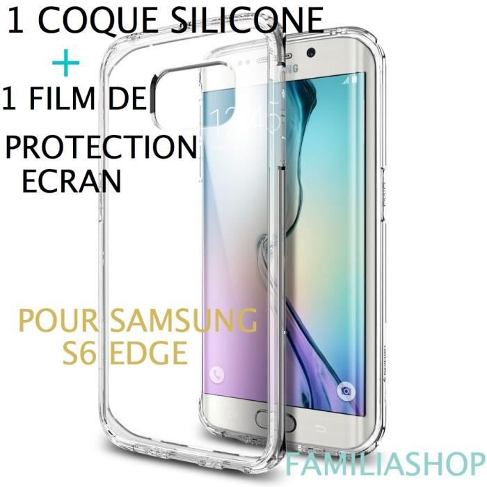 coque samsung s6 edge transparente