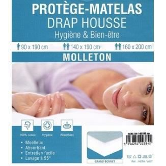 a prot ge matelas molleton 80x200 anti acariens achat. Black Bedroom Furniture Sets. Home Design Ideas