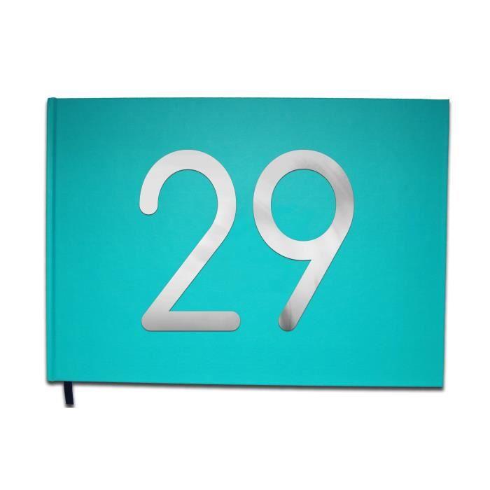 Livre D Or 29 Ans Anniversaire Mariage Retraite Lettres Chromees 100 Pages Qualite Premium Uttscheid Couleur Bleu C Achat Vente Livre D Or Livre D Or 29 Ans Cdiscount