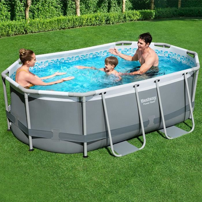 piscine tubulaire ovale intex