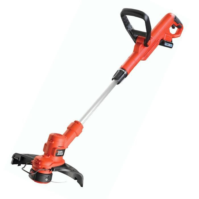 Black decker stc1815 coupe bordures 28cm 18v achat - Coupe bordure electrique black et decker ...