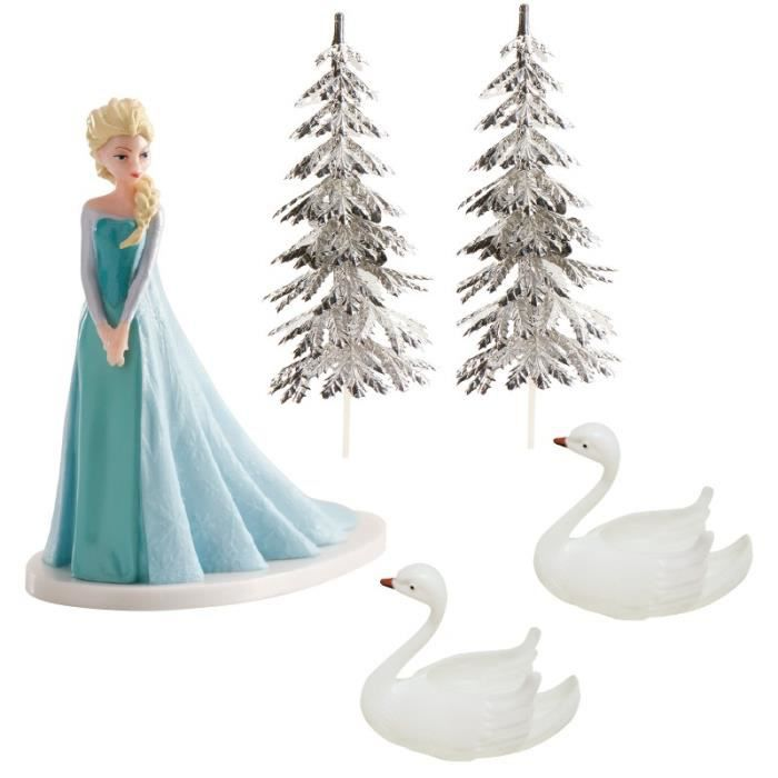 figurine deco reine des neiges. Black Bedroom Furniture Sets. Home Design Ideas