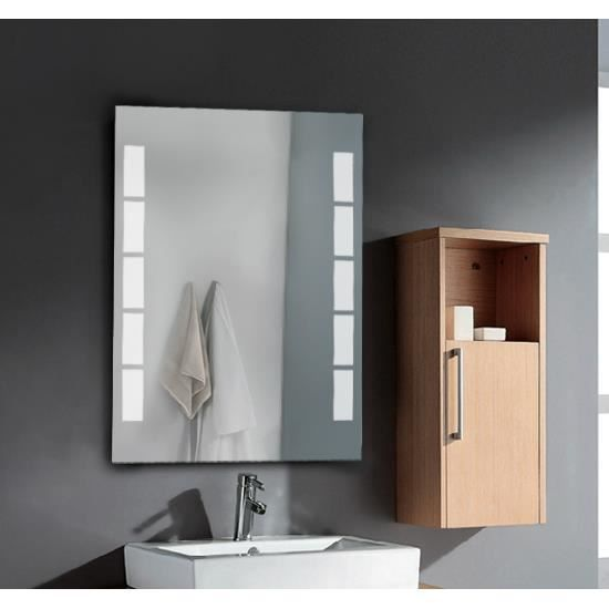 miroir lumineux led de salle de bain achat. Black Bedroom Furniture Sets. Home Design Ideas