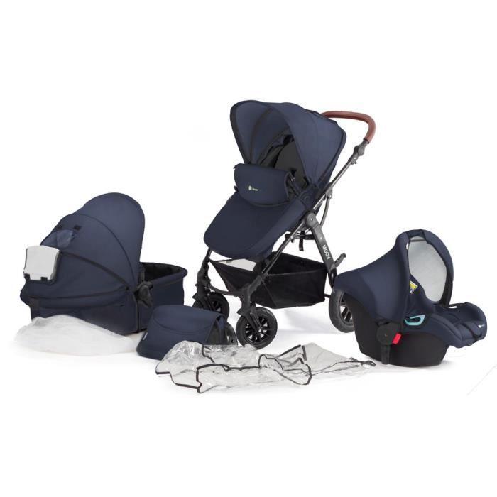 POUSSETTE  Poussette 3 en 1 bébé combinée multifonctions avec