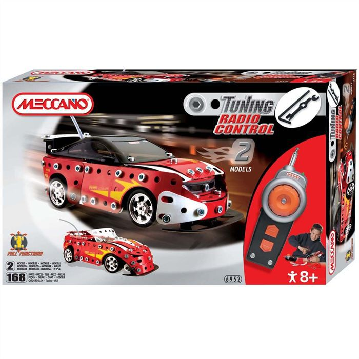 meccano tuning rc red hot racer achat vente voiture camion cdiscount. Black Bedroom Furniture Sets. Home Design Ideas