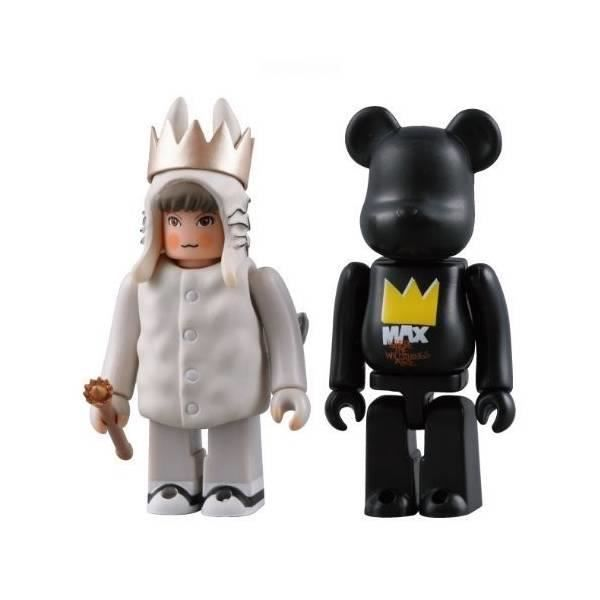 FIGURINE - PERSONNAGE Where the Wild Thing Are Max Kubrick & Bearbrick