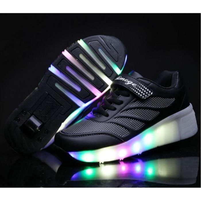 Nouveau LED Chaussures Enfant Sport Mode Tour Uniq