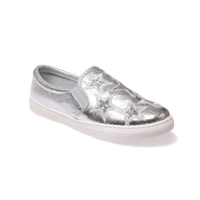 LA MODEUSE - BASKETS DE TYPE SLIP-ON EN PU SCINTILLANT o1LD0i