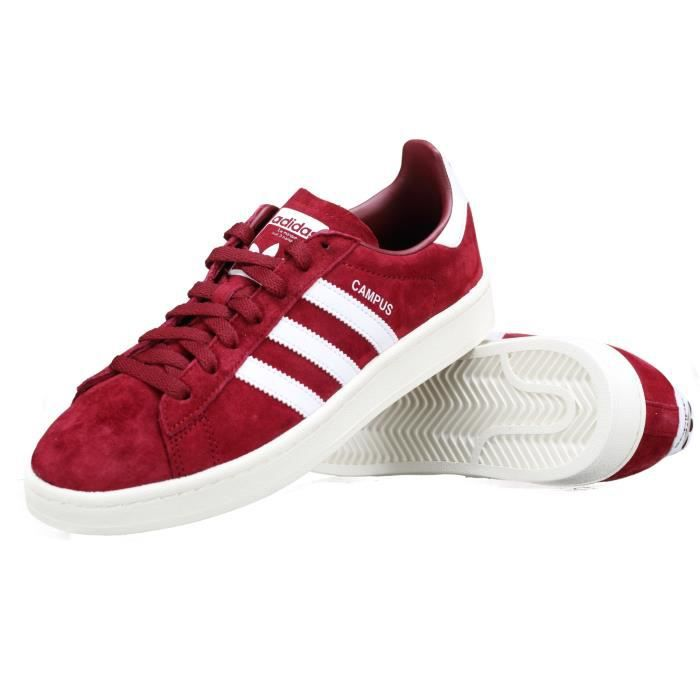 Adidas Campus baskets rouge
