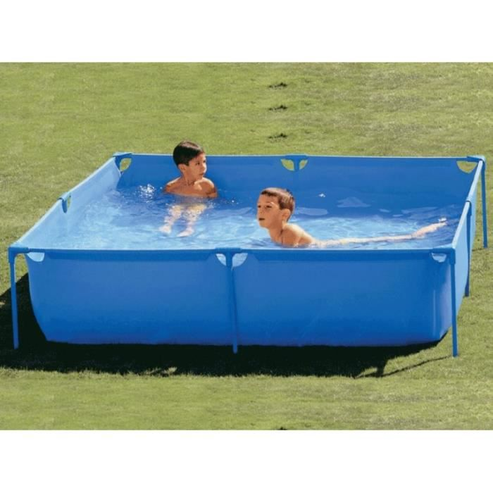 Piscine tubulaire 120 x 120cm achat vente piscine for Piscina intex cuadrada