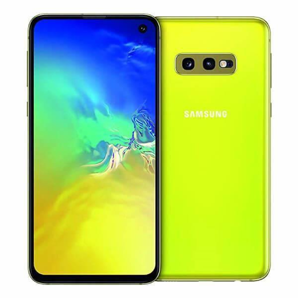 SMARTPHONE Samsung Galaxy S10e 6Go/128Go Jaune Double SIM G97
