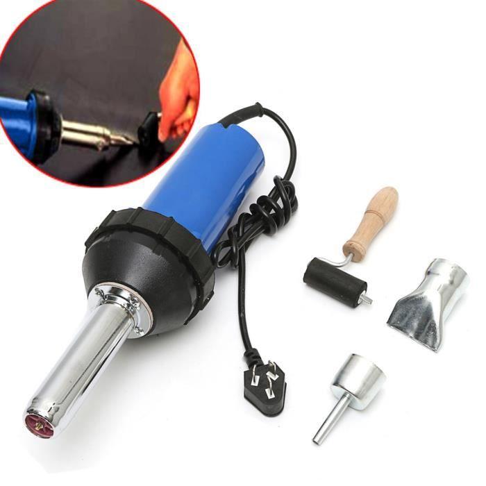 1080-1600 W air chaud gaz plastique chalumeau soudeur Pistolet Thermique Embout De Plancher Outil