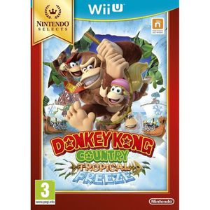 JEU WII U Donkey Kong Country Tropical Freeze Select Jeu Wii