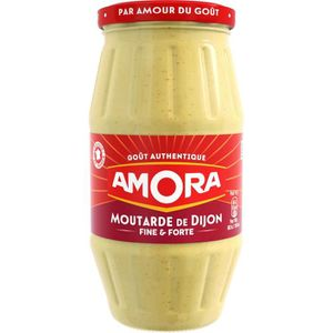 MOUTARDE Moutarde Forte 440g Amora