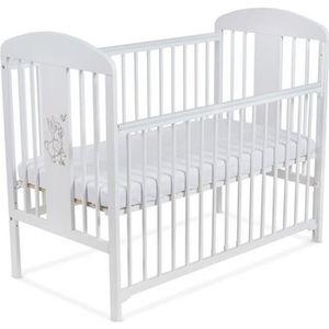 LIT BÉBÉ Lit pour Bébé à barreaux TOMI 18 -