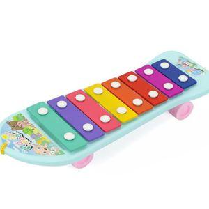 CONSOLE ÉDUCATIVE Bébé Enfant Enfant 8-Note Jouets Musicaux Instrume
