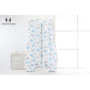 RANGE-PYJAMA Gigoteuse en coton - pyjama en gaze respirant - 70