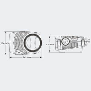 BASSIN D'EXTÉRIEUR Pompe à eau de bassin filtre filtration cours d'ea