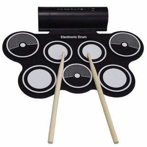 CYMBALE POUR BATTERIE USB MIDI Batterie Electronique Portable Pratique B