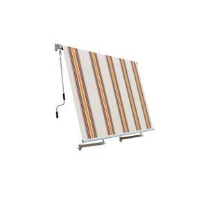 STORE - STORE BANNE  Store banne vertical avec bras L245 x h245 cm rayé