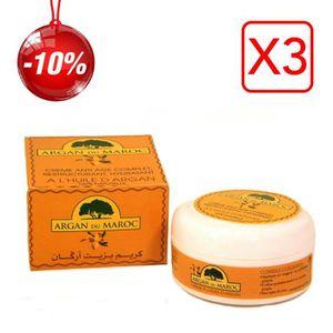 ANTI-ÂGE - ANTI-RIDE 3 Crèmes Argan du Maroc Soin Contour des yeux et V