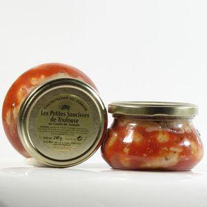 PLAT A BASE DE VIANDE Petites Saucisses au Coulis de Tomate et au Pim…