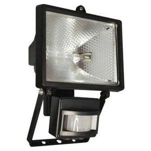 ip44 Halogène projecteur//projecteur puissant 120w avec détecteur mvt Noir