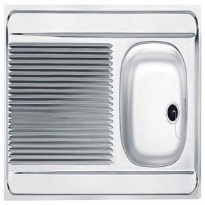 101.0458.566 Franke /évier de cuisine avec un bac en acier inoxydable Lin de Polar PXL 611 71 1/pi/èce