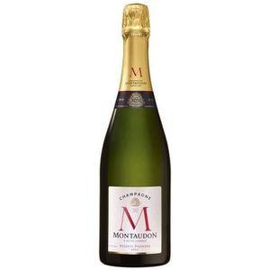 CHAMPAGNE Montaudon Champagne brut Réserve Première 75 cl 12