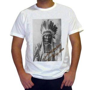 T-SHIRT Geronimo T-shirt, Homme Tshirt Blanc